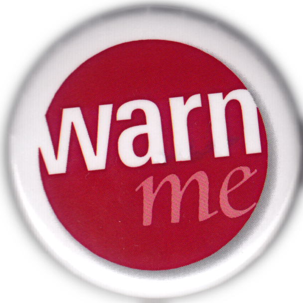 pic of warn me logo as a button