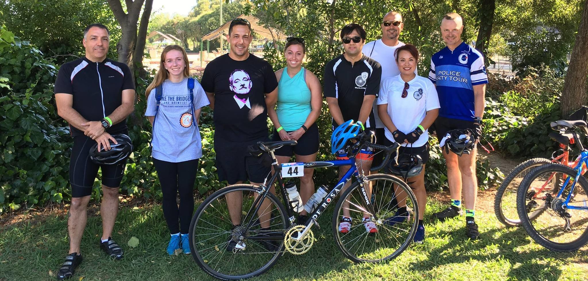 UCPD Bike the Bridges Team 2016
