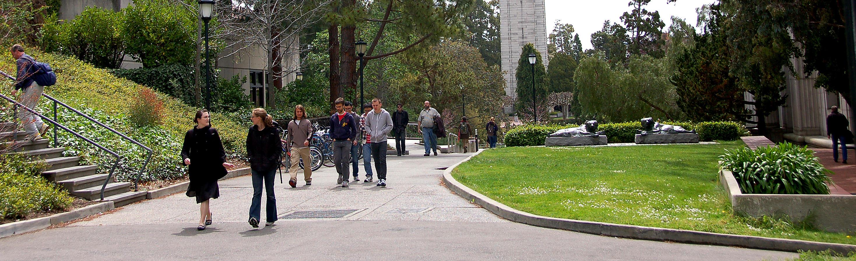 North campus pathway
